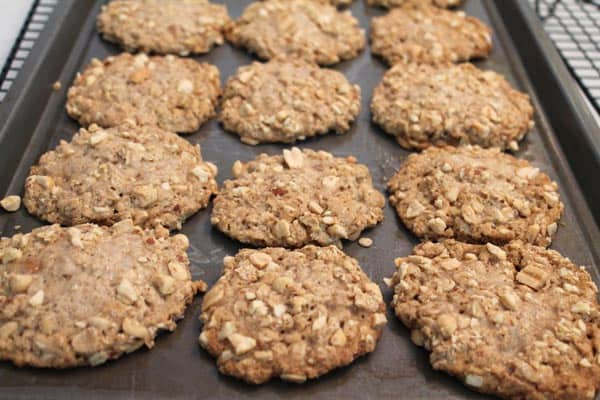 Take 5 Oatmeal Cookies baked