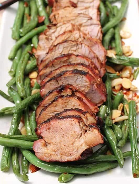 Asian Grilled Pork Loin square
