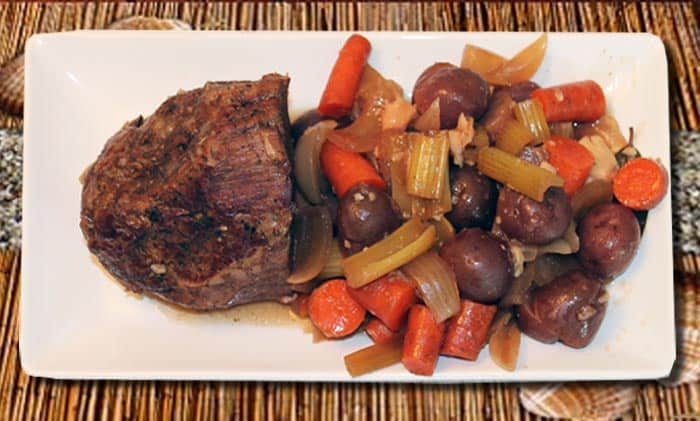 Crockpot Pot Roast 2 | 2 Cookin Mamas