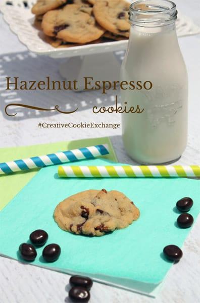 Hazelnut Espresso Cookies | 2CookinMamas