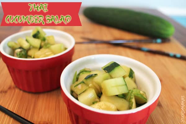 Thai Cucumber Salad | 2cookinmamas