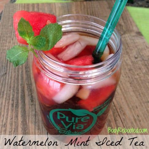Watermelon-Mint-Iced-Tea by BodyRebooted