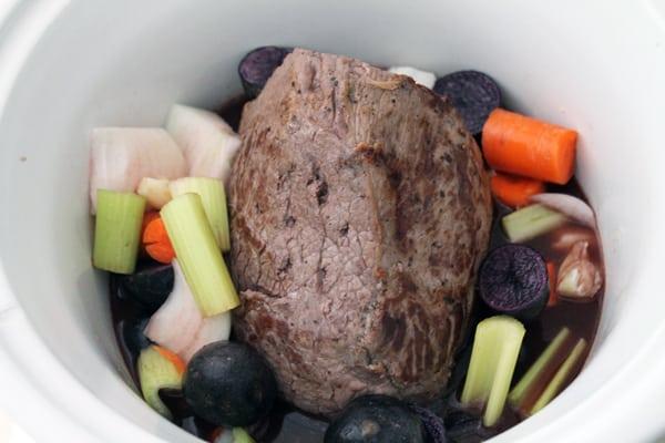 Crockpot Pot Roast - getting started