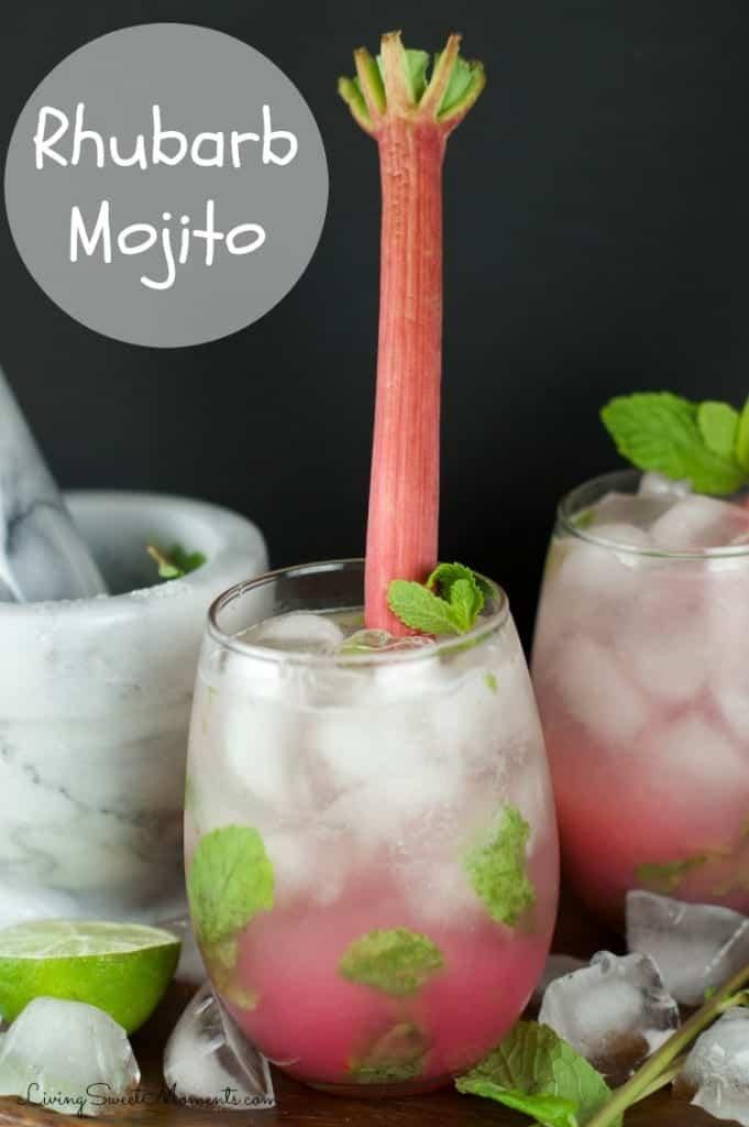 rhubarb-mojito-recipe-by living sweet moments