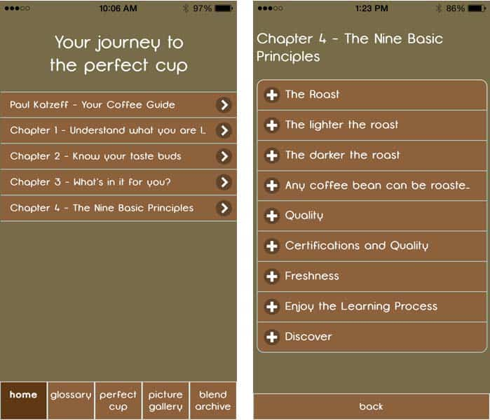 your journey to perfect cup