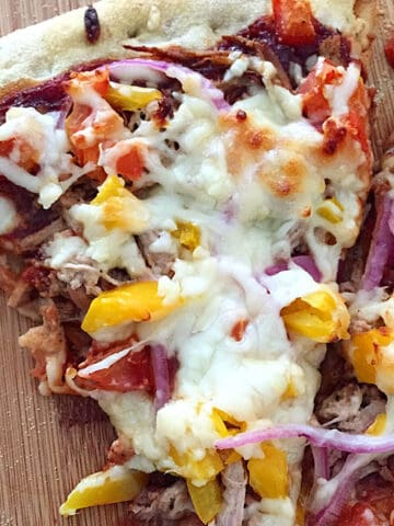 BBQ Pulled Pork Pizza square