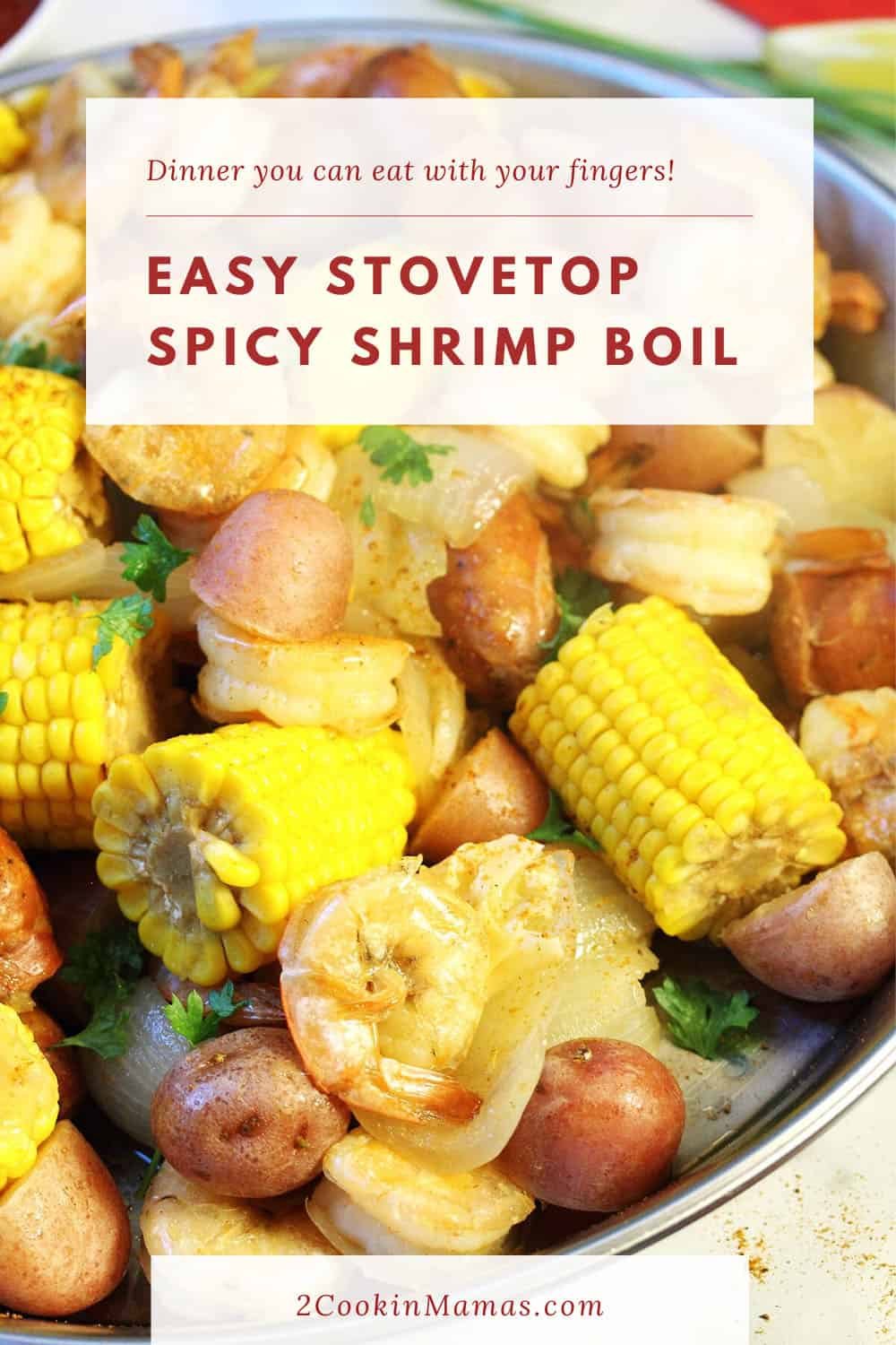 Spicy Cajun Shrimp Boil with Zatarains
