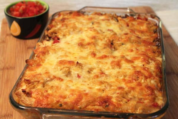 Southwestern Chicken Bake 600x400 | 2CookinMamas