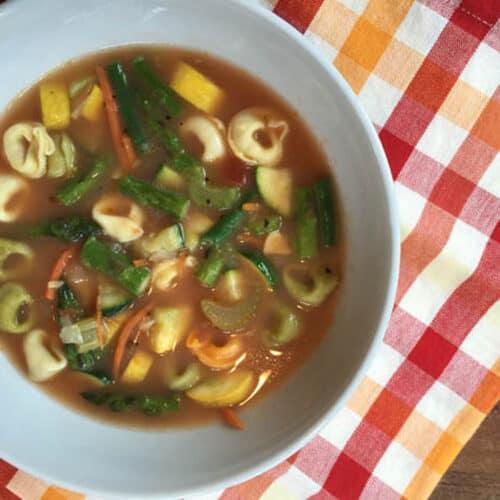 Summer Vegetable Soup square