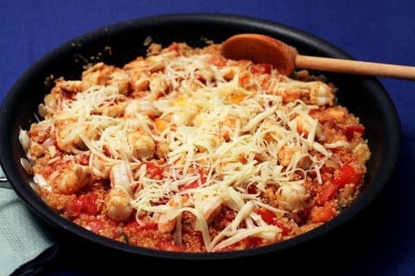 Cajun Shrimp and Quinoa 2 | 2CookinMamas