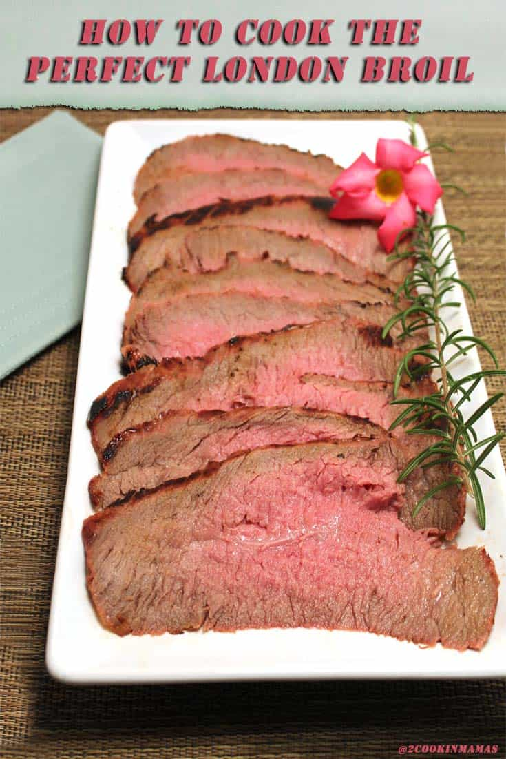 The secret to grilling the best and most tender London broil you've ever had! And all it takes is a flank steak and one other ingredient! #londonbroil #grilling #grillingalondonbroil #steak
