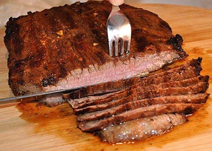 How to slice a london broil
