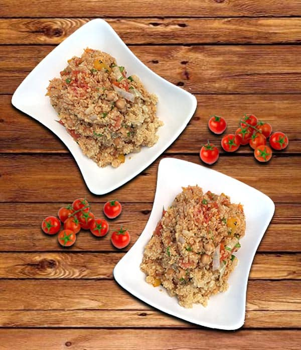 Quinoa with roasted vegetables 1|2CookinMamas