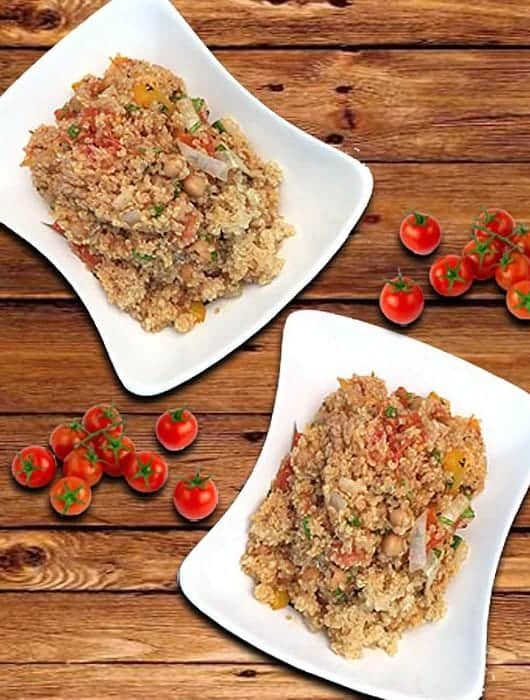 Quinoa with Roasted Vegetables square 1 | 2 Cookin Mamas
