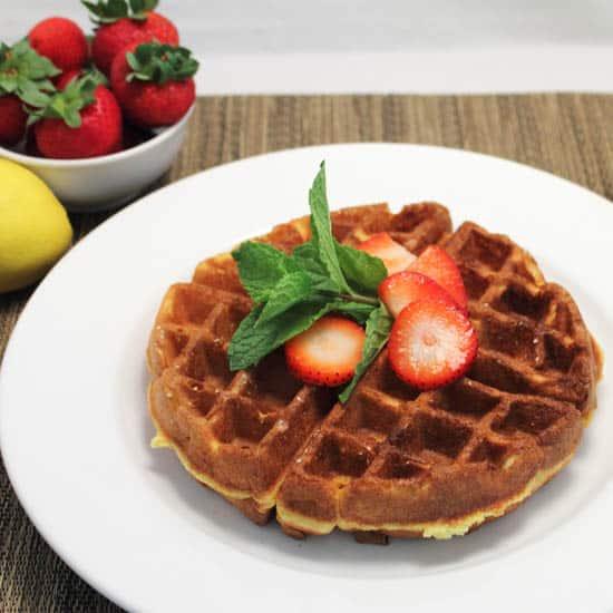 Cake Mix Waffles 550x550|2CookinMamas