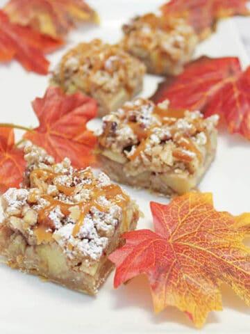 Caramel Apple Bars 2 square