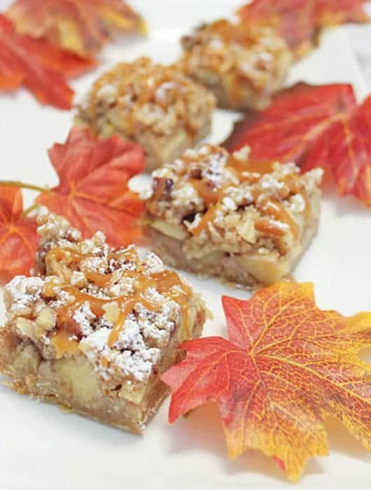 Caramel Apple Bars 2 square