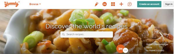 How to use yummly 2 cookin mamas discover the workd of recipes yummly forumfinder Choice Image