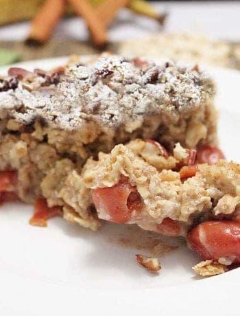 Maple Bacon Oatmeal Bake square