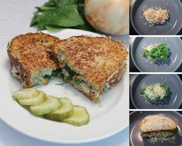 Tuna Melt collage | 2 Cookin Mamas