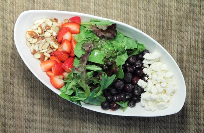 Red White and Blue Salad deconstructed 2 2CookinMamas