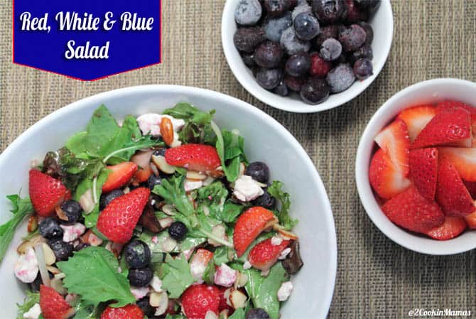 Red White and Blue Salad main   2CookinMamas