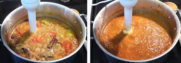 Chicken Tinga blending