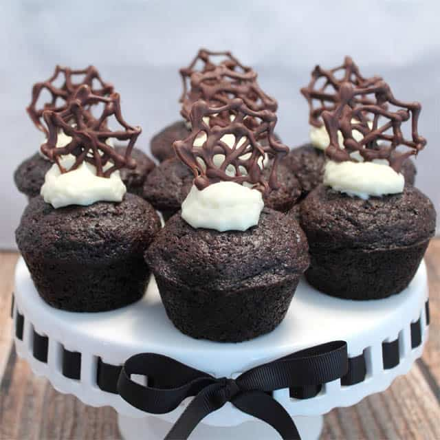 Chocolate Carrot Cake Cupcakes square|2CookinMamas