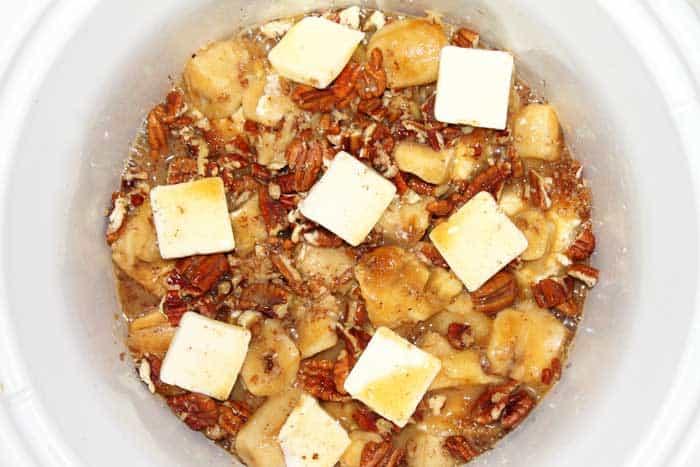 Crockpot French Toast ready to bake | 2 Cookin Mamas