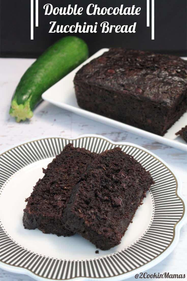 This chocolate zucchini bread is easy to make, rich and full of delicious chocolate. And your family will never know that it's packed with veggies!