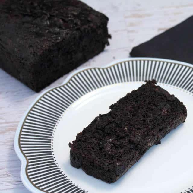 Double Chocolate Zucchini Bread square|2CookinMamas