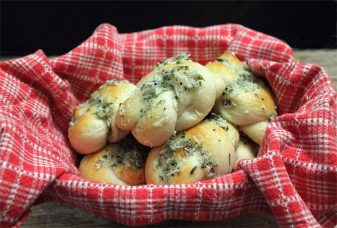 Easy Parmesan Knots 670 | 2CookinMamas
