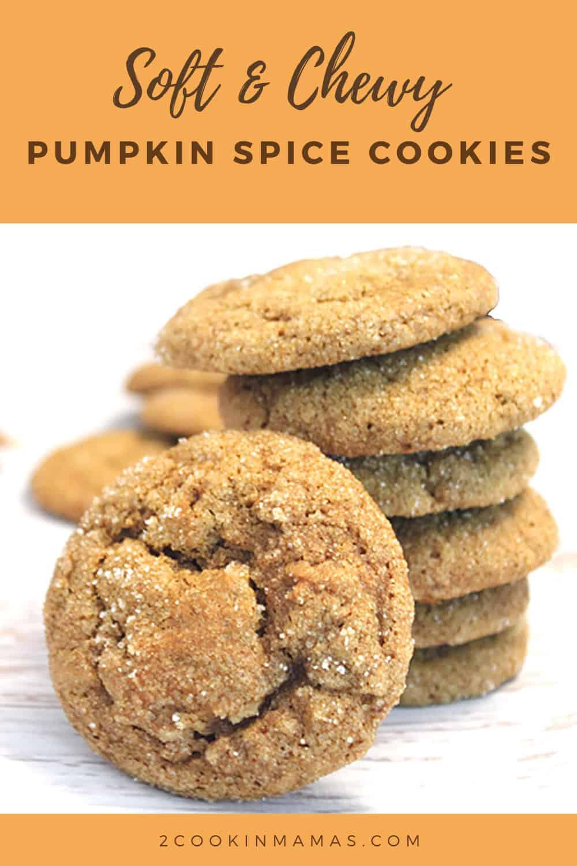 Pumpkin Spice Cookies - #CreativeCookieExchange