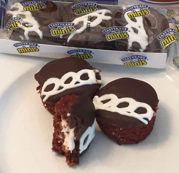Tastykake cupcake closeup
