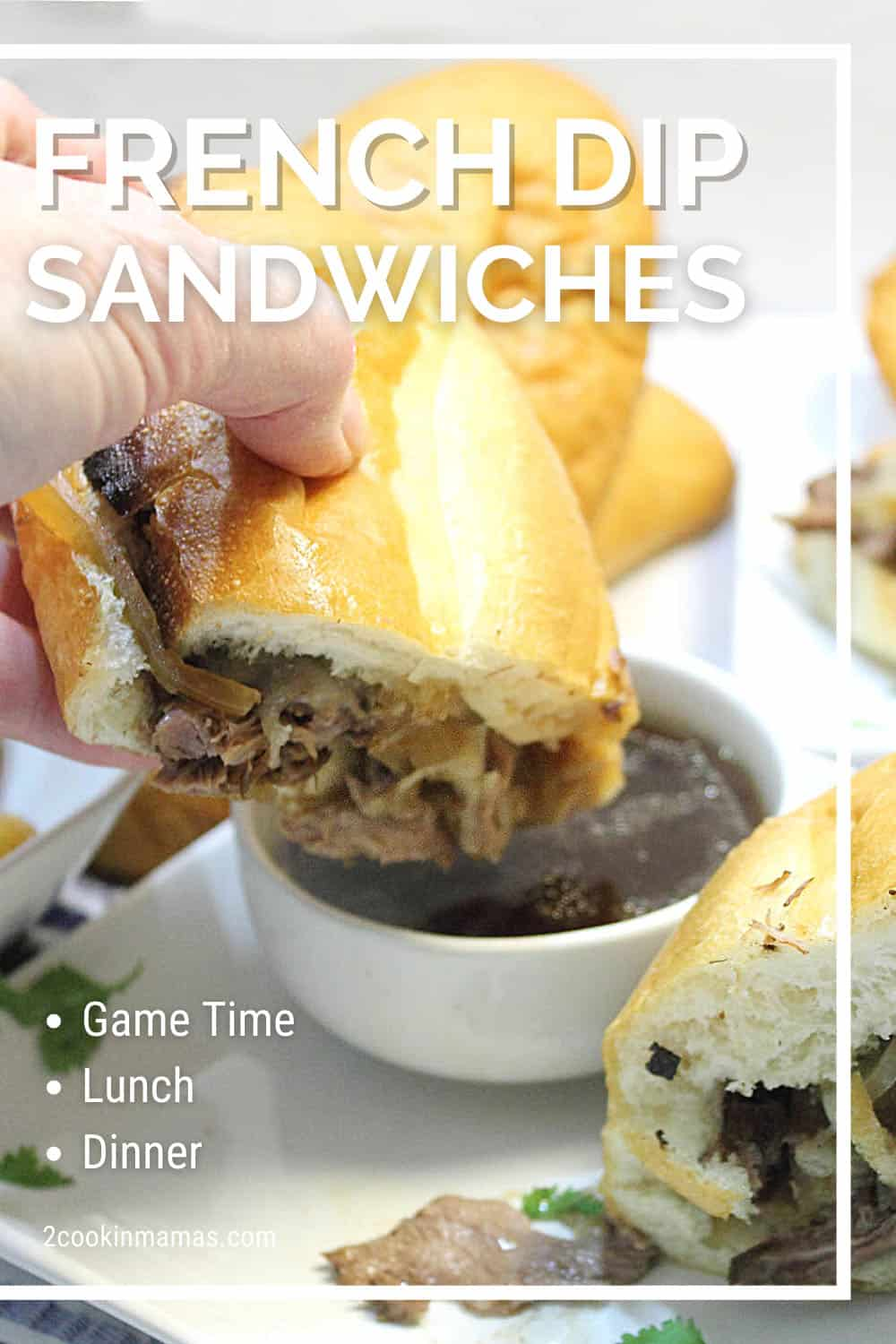 Best Crockpot French Dip Sandwiches