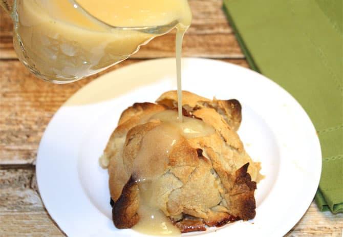 Apple Dumplings closeup | 2CookinMamas