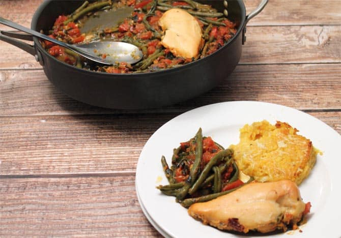 Chicken and Green Beans 670a 2CookinMamas