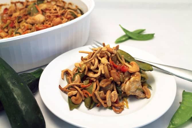 Chinese Chicken Casserole 670| 2CookinMamas