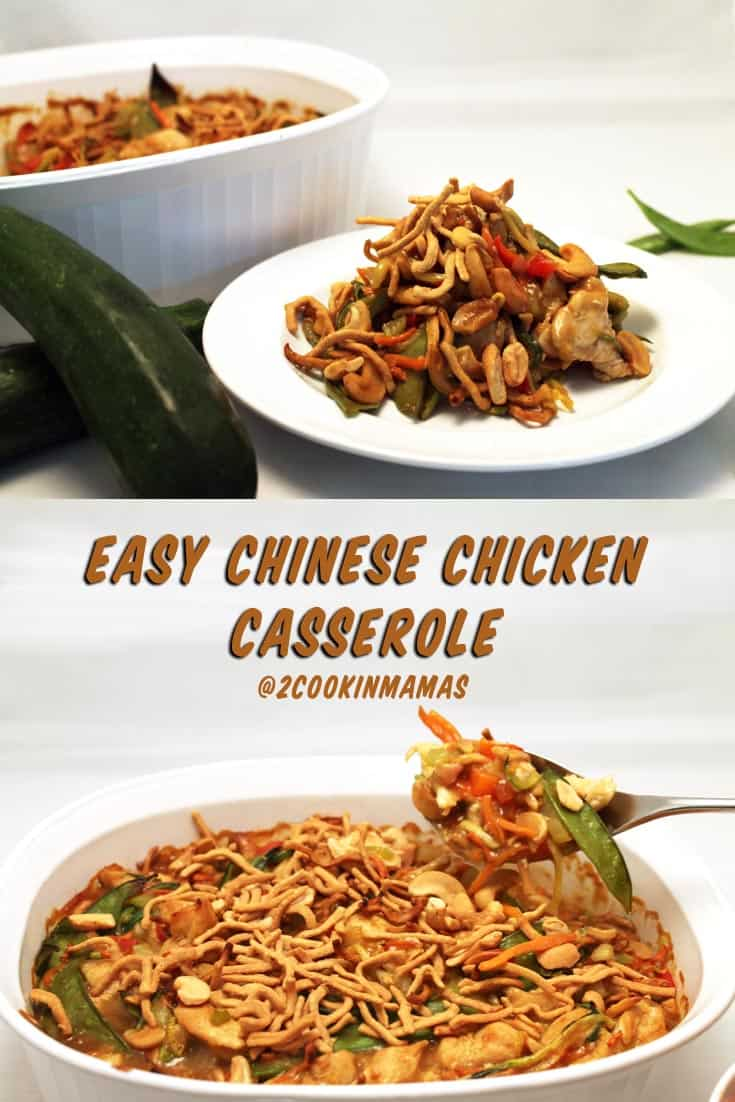 Use your holiday leftovers or a rotisserie chicken to make this delicious Chinese Chicken Casserole. Easy, healthy and perfect for the busy work week.