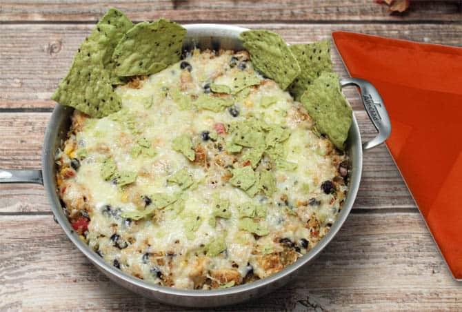 Mexican Quinoa Bake 1| 2CookinMamas
