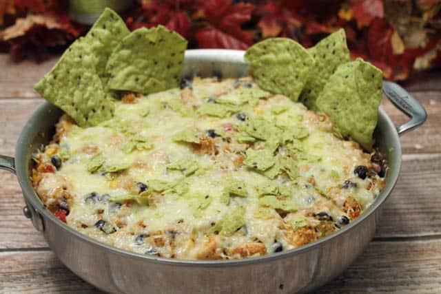 Mexican Quinoa Bake 640| 2CookinMamas