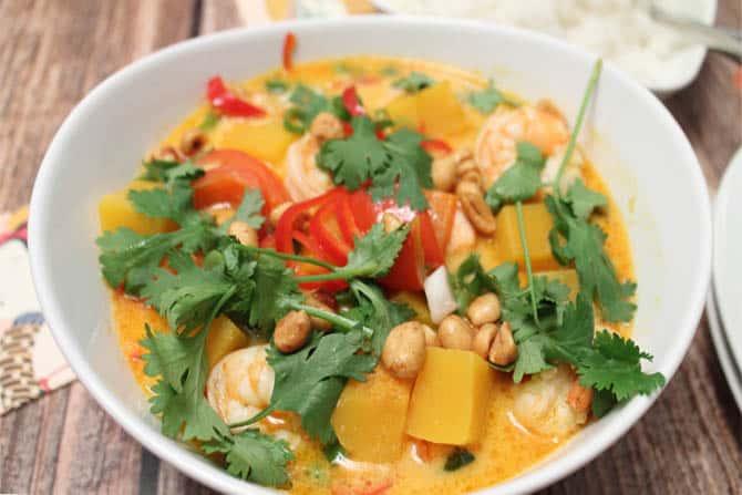Shrimp Panang Curry 1|2CookinMamas