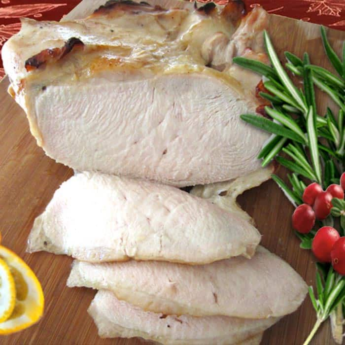 honey roasted turkey breast square | 2 Cookin Mamas