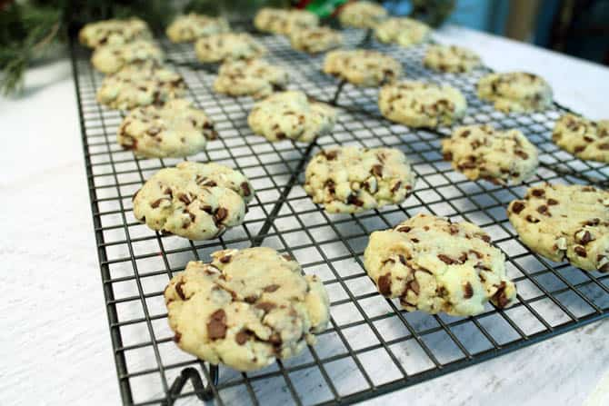 Mint Chip Cookies 3|2CookinMamas
