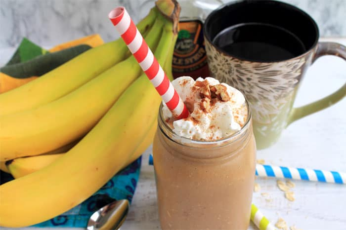 Banana Pancake Smoothie 2 | 2 Cookin Mamas