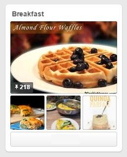 Breakfast Pin board