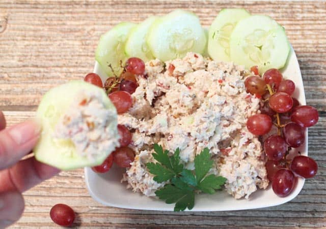 Chicken Walnut Salad dip|2CookinMamas