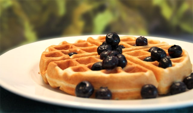 Almond Flour Waffles 640|2CookinMamas