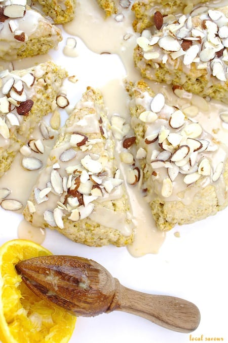 Orange_Oatmeal_Scones from Local Savour