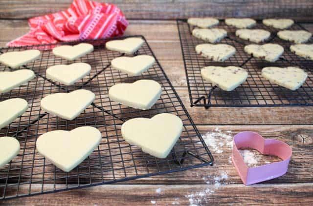 Sweet Heart Cookies cooling 2CookinMamas